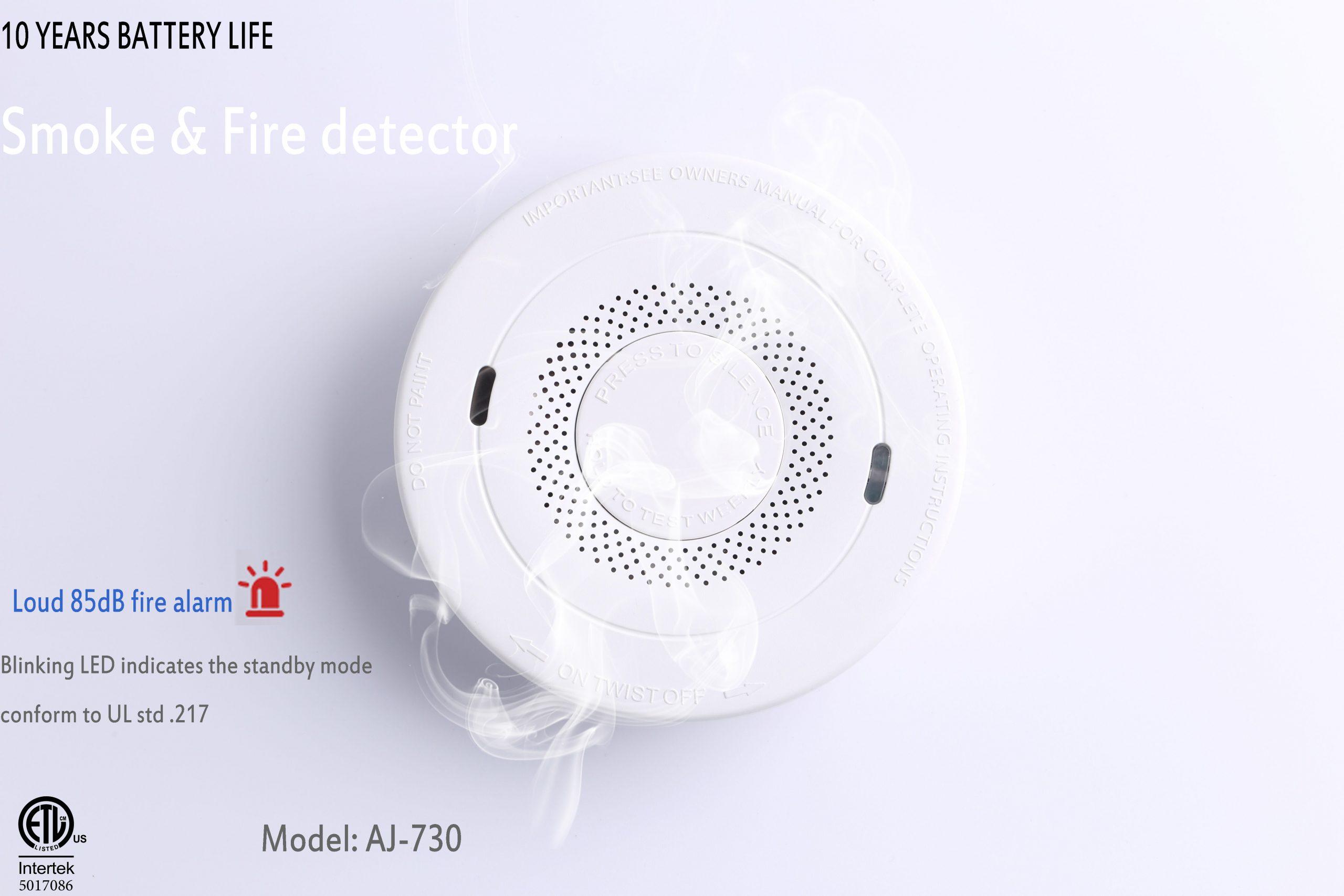 10 years smoke alarm