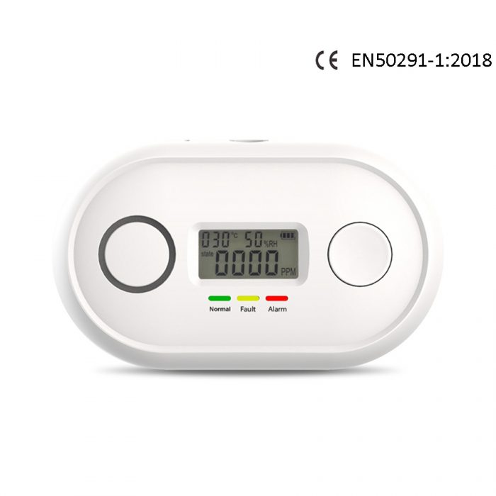 Carbon-monoxide-detector-alarm