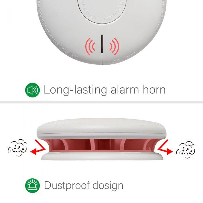 AJ-732 Smoke alarm
