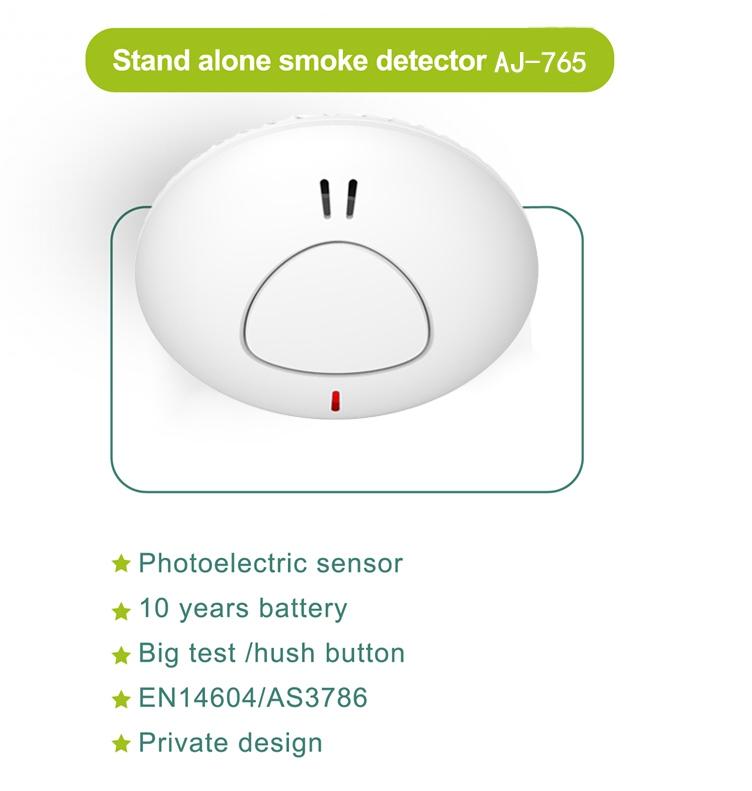 10 years smoke detector