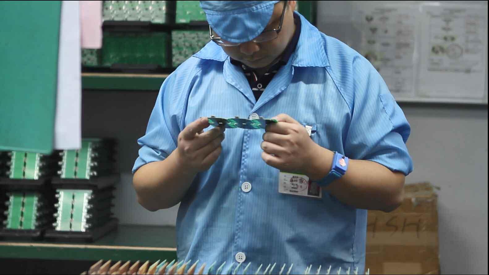 smoke detector factory