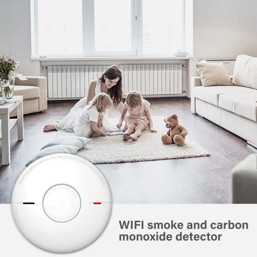 WIFI combination smoke &CO alarm