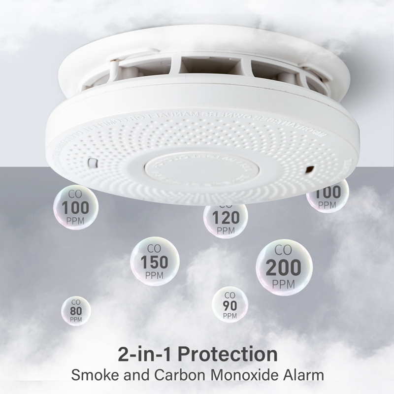 wifi smoke and carbon monoxide detector