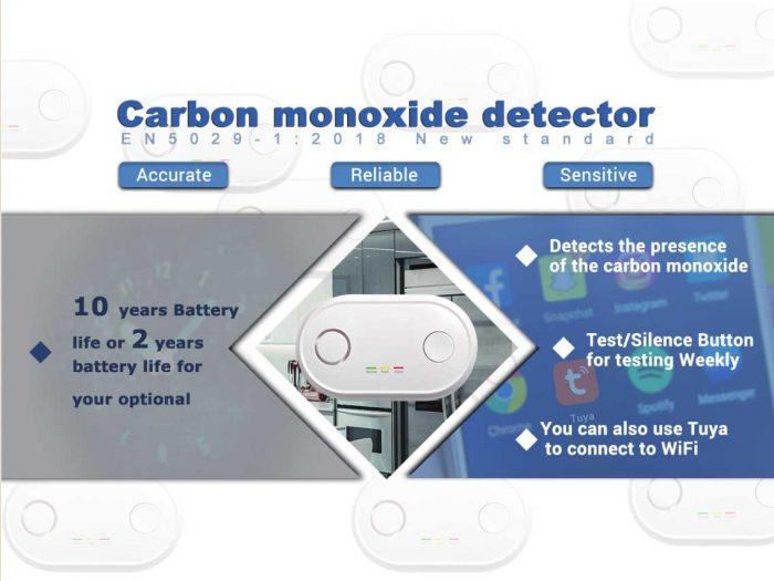 AJ-830 Carbon monoxide alarm