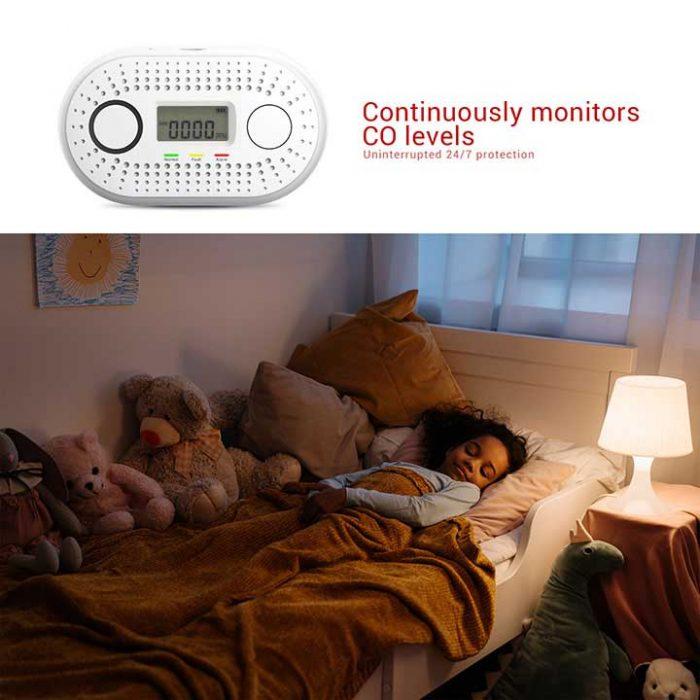 AJ-831 co alarm detector