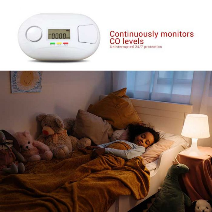 AJ-832 co alarm detector
