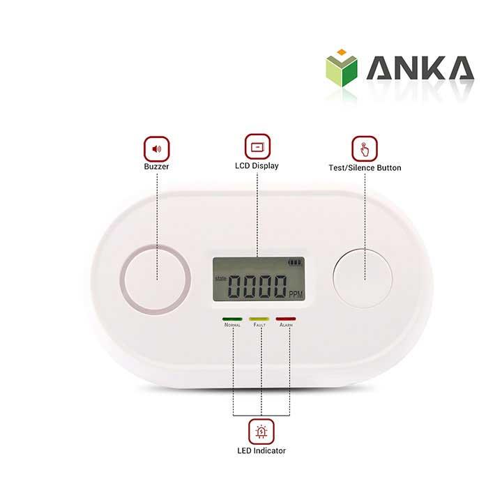 EN50291 carbon monoxide alarm