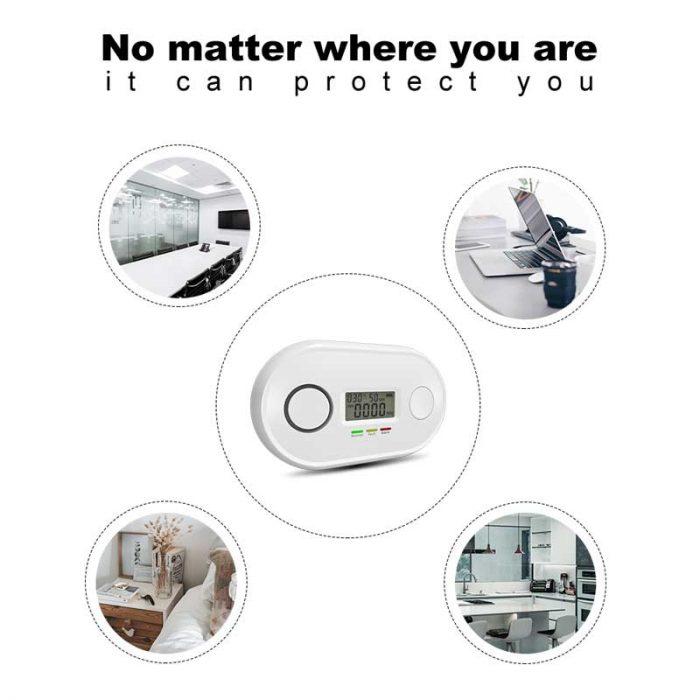 battery powered carbon monoxide detector
