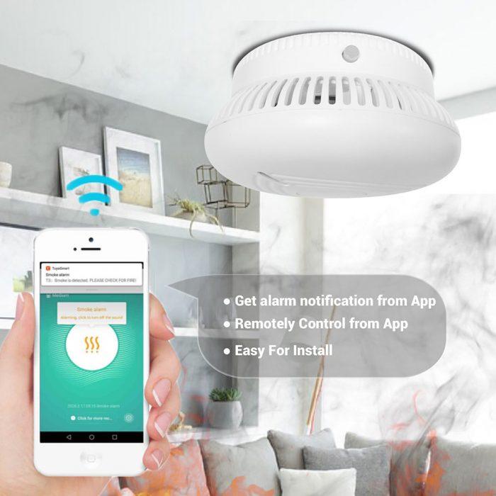 smart wifi smoke alarm