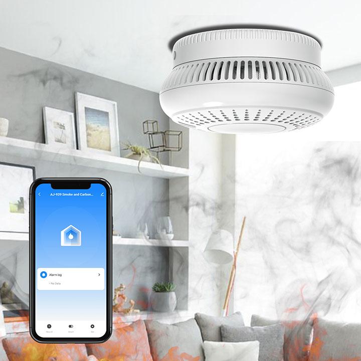 tuya smart smoke detector