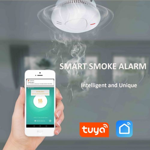 tuya wifi smoke alarm