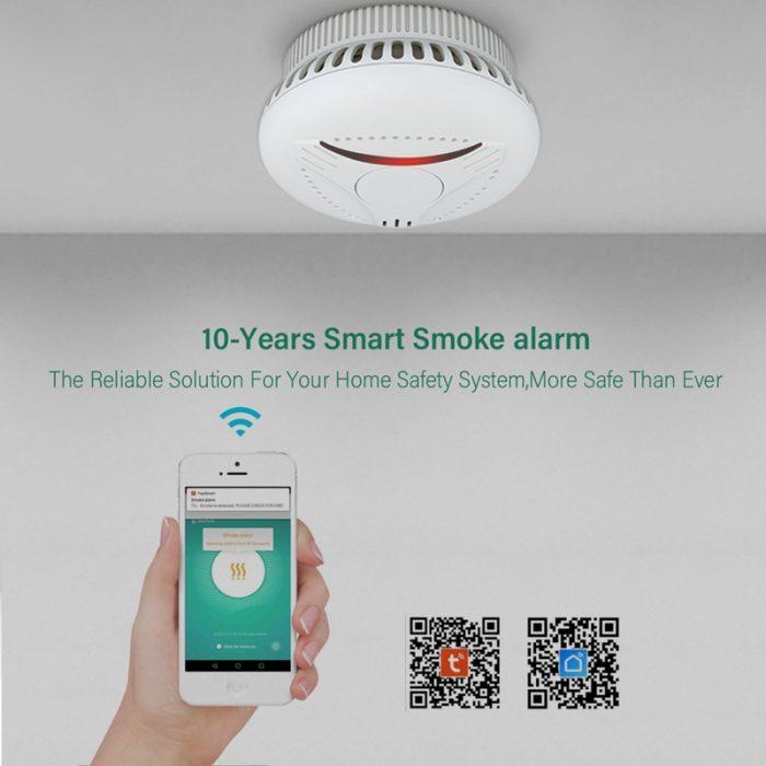 wifi smart smoke detector
