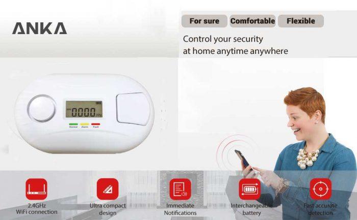 WIFI Carbon monoxide alarm
