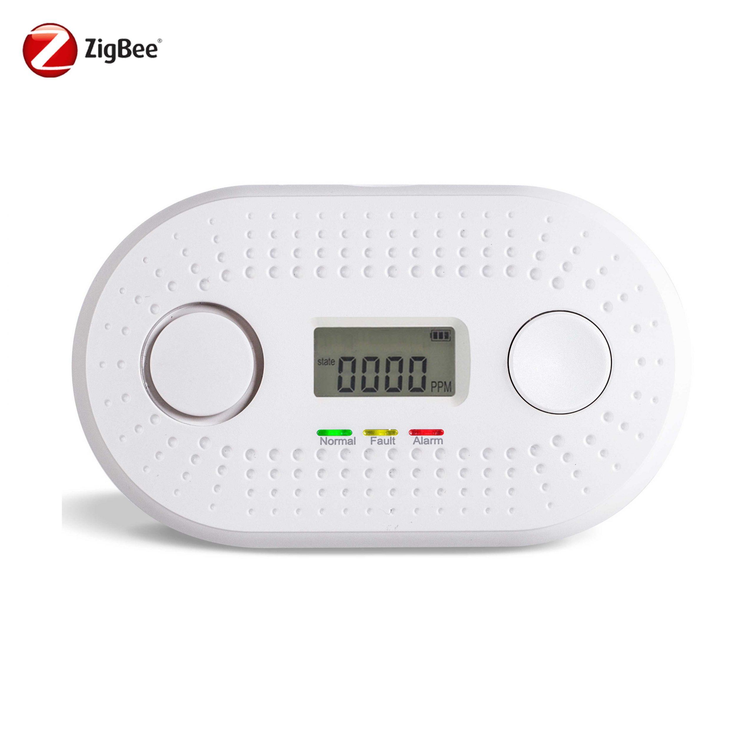 Zigbee carbon monoxide alarm